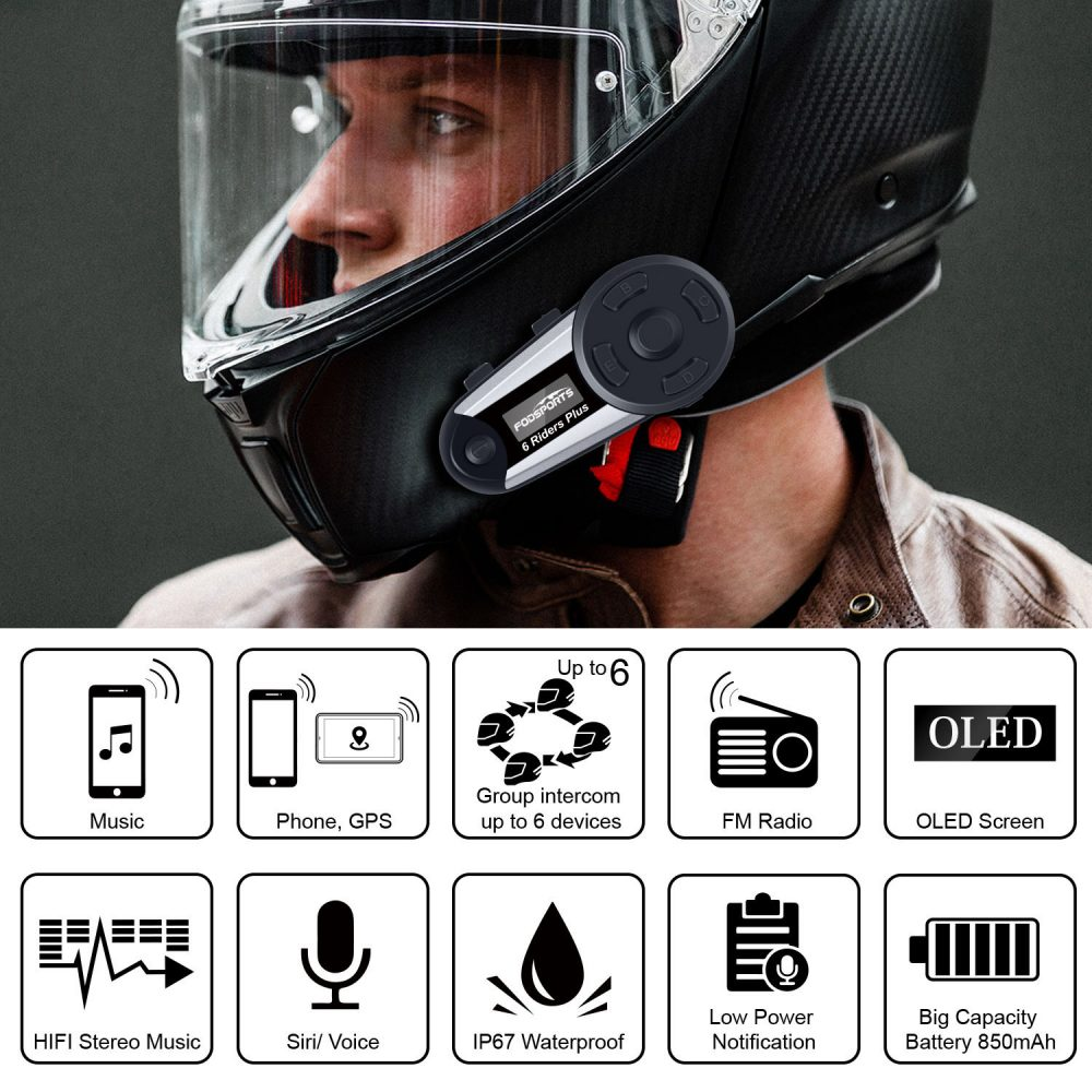 V6 Plus Bluetooth Intercom